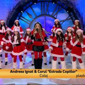 Andreea Ignat si Corul Estrada Copiilor canta la Neatza cu Razvan si Dani