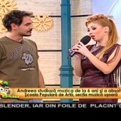 Andreea Ignat - Interviu la Neatza cu Razvan si Dani pe 25 noiembrie 2015