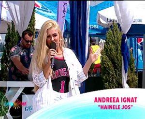 Andreea Ignat - Hainele jos la Gashka mare 24 august 2017
